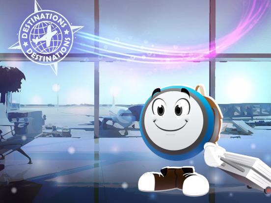 ¡El vuelo GP472 está listo para despegar!