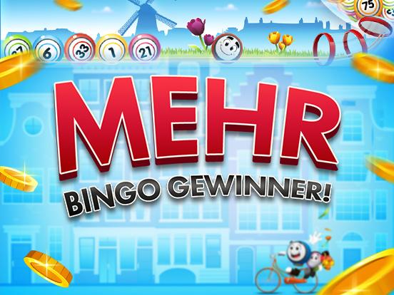 Mehr Gewinner bei GamePoint Bingo!