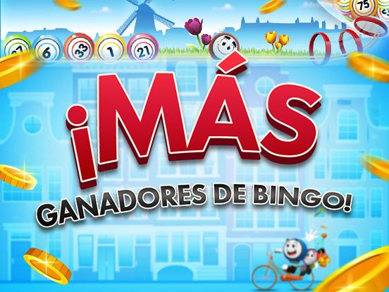 ¡Más ganadores en GamePoint Bingo!