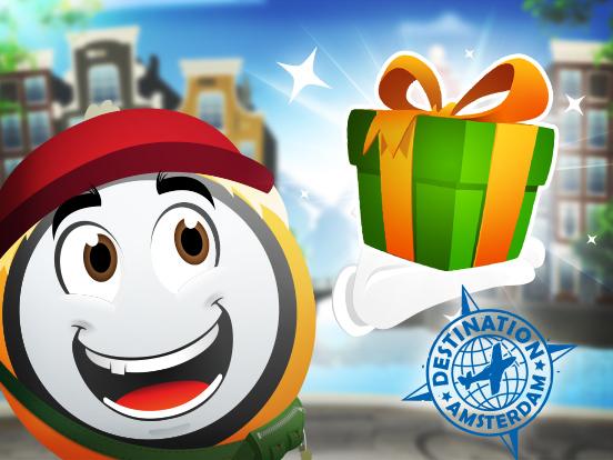 Distribution de Cadeaux d'Amsterdam !