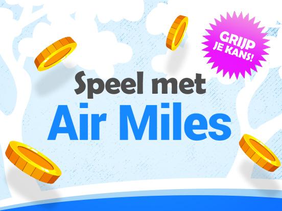 Speel met Air Miles