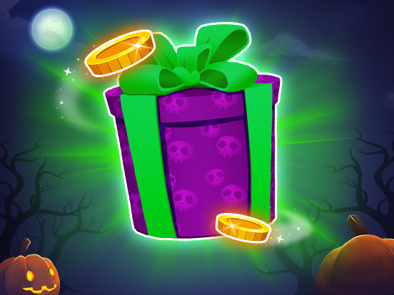 Collect treats for the Halloween Giveaway!