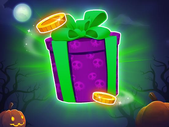 Récoltez les Bonbons pour la Distribution de Cadeaux d'Halloween !