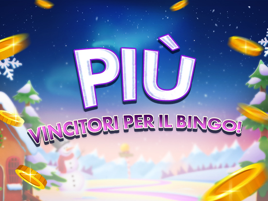 Più vincitori su GamePoint Bingo!
