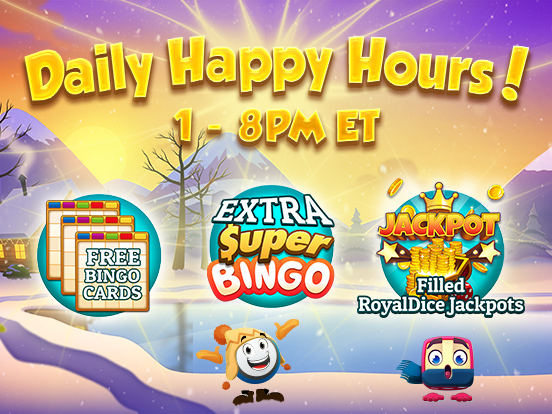 Happy Hours this week!