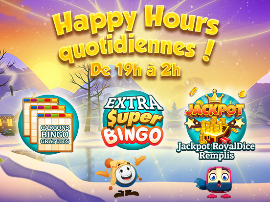 Happy Hours cette semaine !