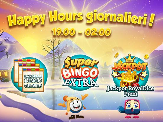Sono tornati gli Happy Hour GamePoint!