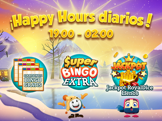 ¡Esta Semana Happy Hours!