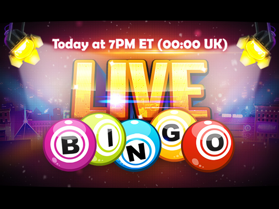 GamePoint presents, Live Bingo!