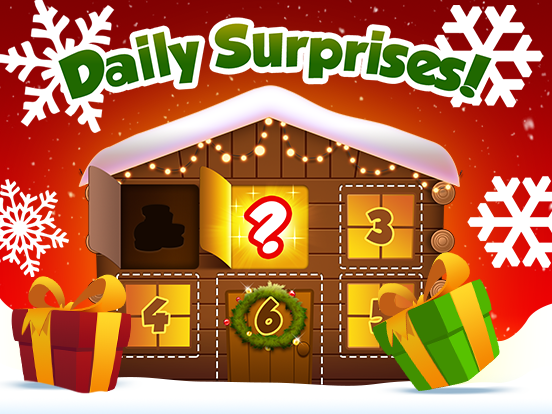 Daily surprises!