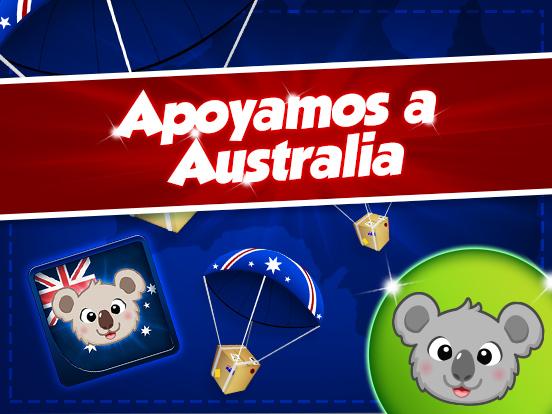 Juntos estamos con Australia