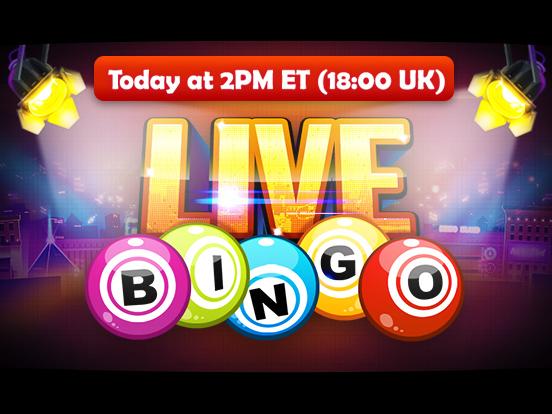 GamePoint presents, Live Bingo!