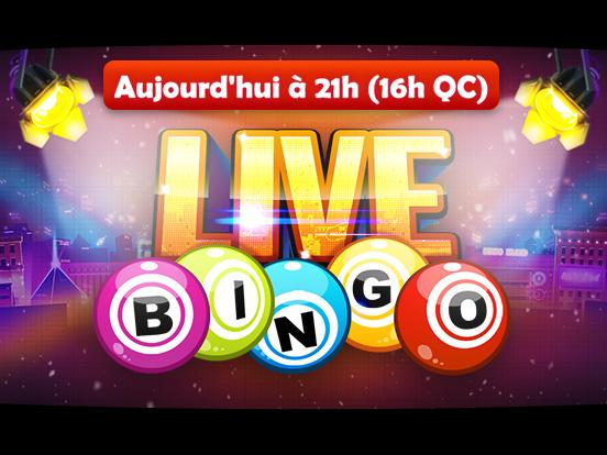 GamePoint présente le Live Bingo !