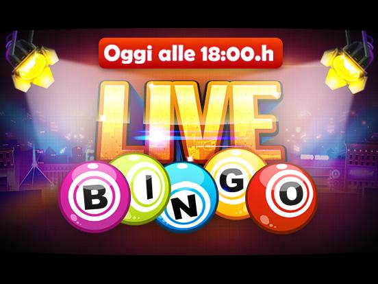 GamePoint presenta: il Bingo Live!