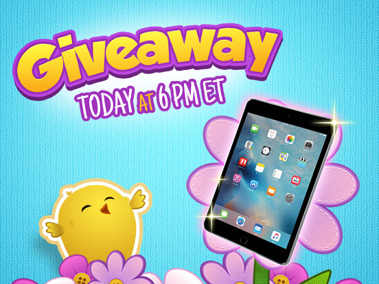 Grab your chance to win an iPad tonight!