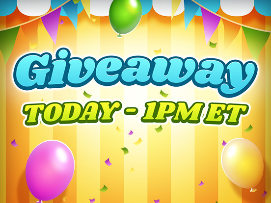 Giveaway Today!